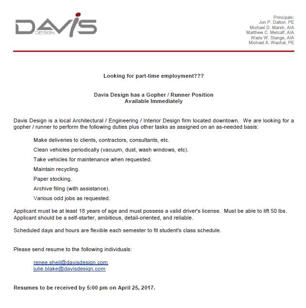Internship Job Opportunities – Interior Designer Job Description