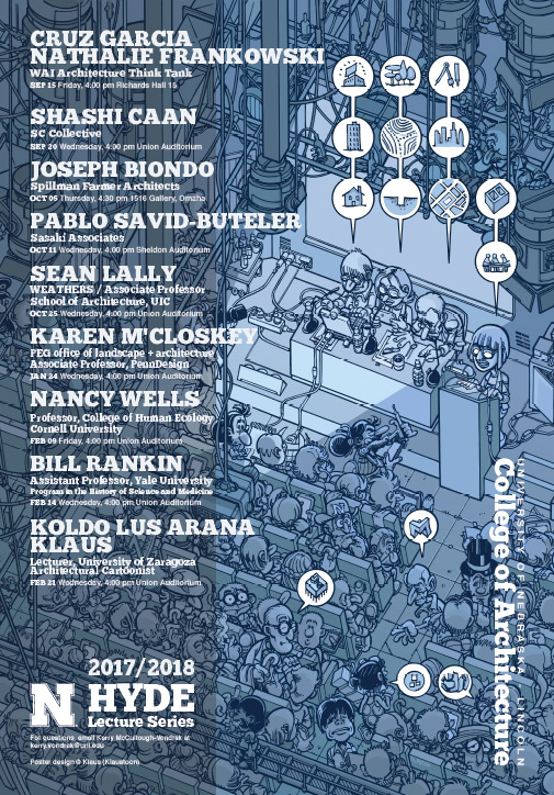 2017 18 hyde lecture series college of architecture