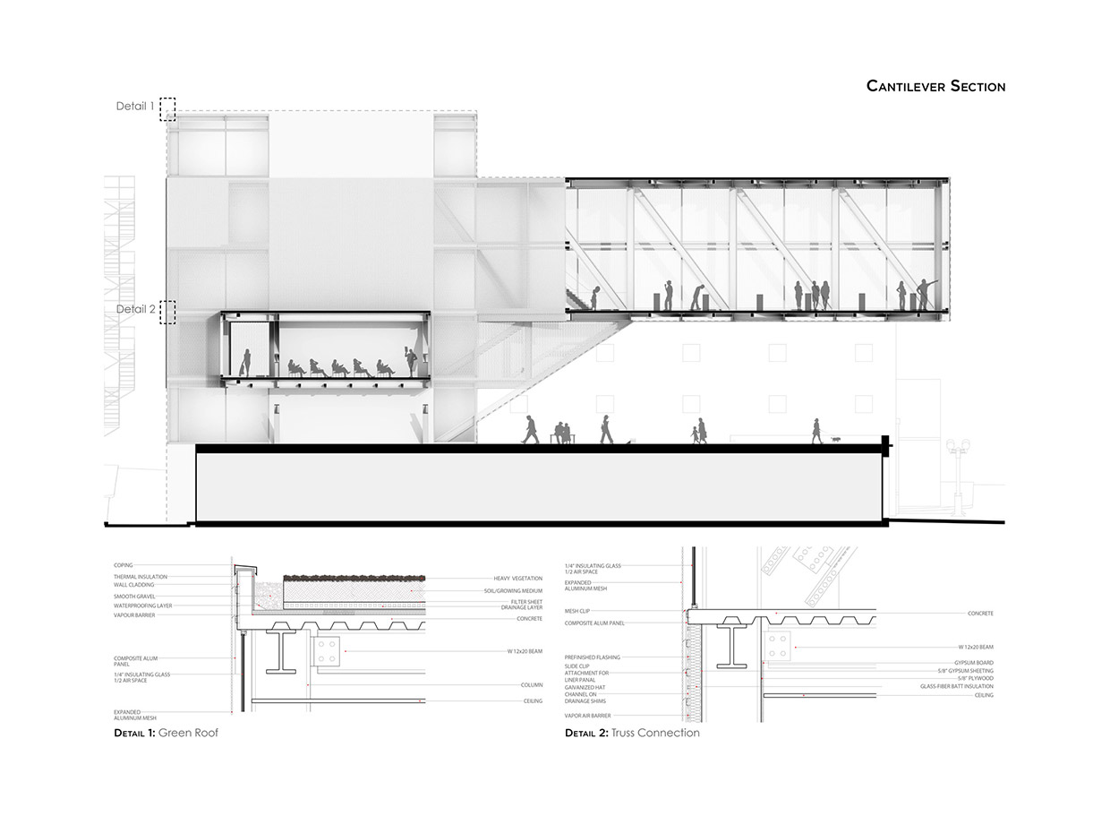 Cantilever Design Buildings