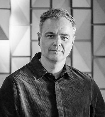 Jason Bruges, founder of Jason Bruges Studio