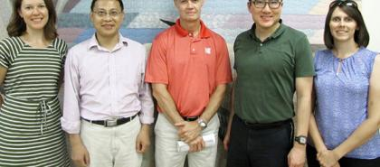 Dr. Tang and the Research Group