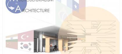 Multiculturalism in Architecture Illustration