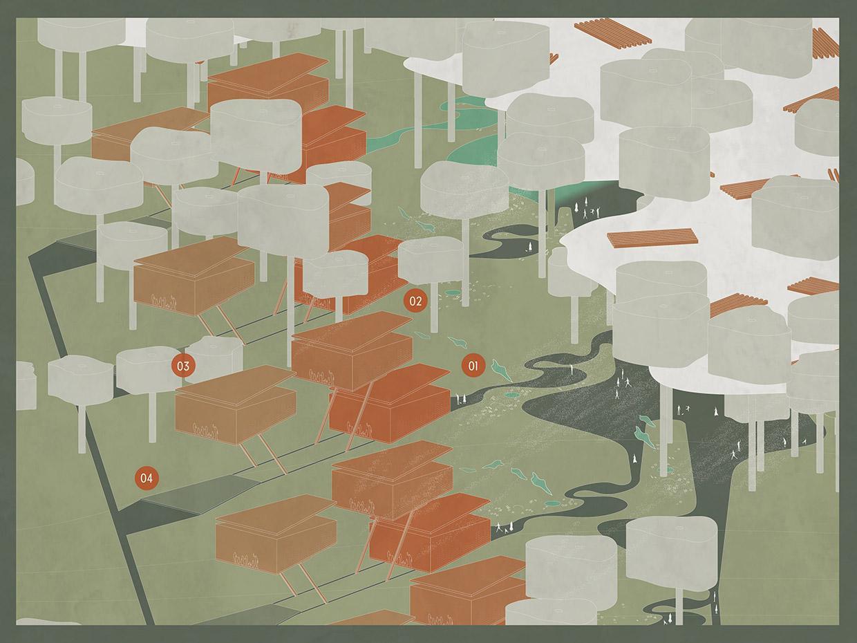Invasive Architecture Design Concepts