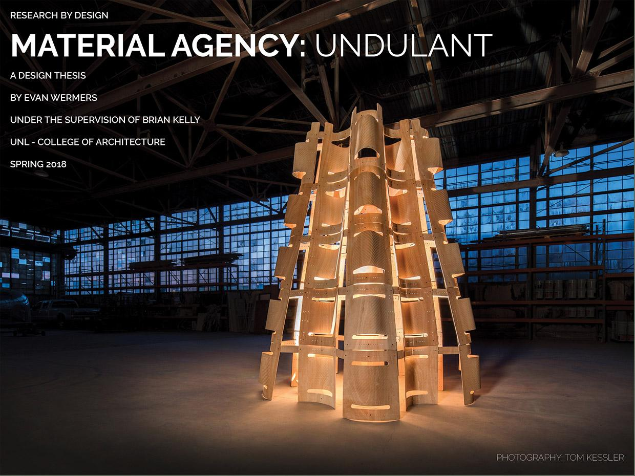 Images of Material Agency: Undulant